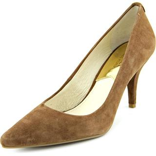 Michael Kors Women's Brown Suede Mid-heel Dress Shoes