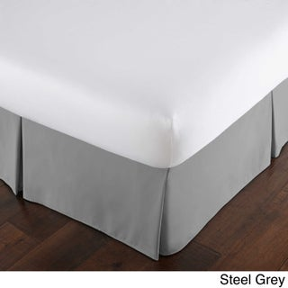 Classic 15-inch Drop Bedskirt by Southshore Fine Linens (Option: California King - Steel Grey)