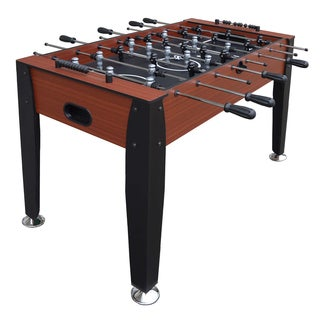Dynasty Cherry/Black MDF/Melamine 54-inch Foosball Table