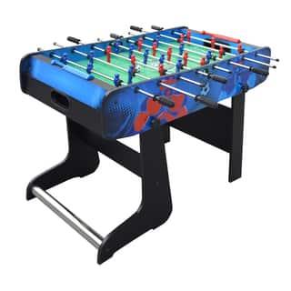 Hathaway Gladiator 48-inch Folding Foosball Table|https://ak1.ostkcdn.com/images/products/12707350/P19488987.jpg?impolicy=medium