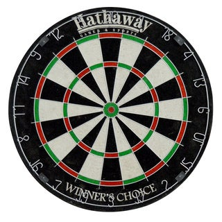 Hathaway Winners Choice Sisal Fiber Bristle 18-inch Dartboard