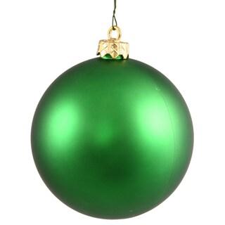 Green 2.75-inch Matte Ball Ornament (Pack of 12)
