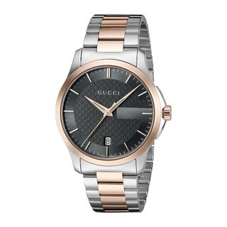 Gucci Unisex YA126446 'G-Timeless' Automatic Two-Tone Stainless Steel Watch