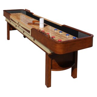 Merlot 9-foot Shuffleboard Table