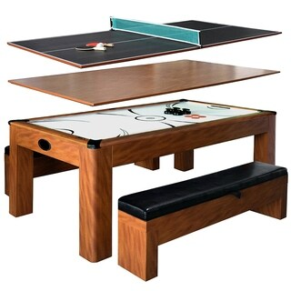 Sherwood Brown MDF 7-foot Air Hockey Table with Benches|https://ak1.ostkcdn.com/images/products/12707851/P19489274.jpg?_ostk_perf_=percv&impolicy=medium