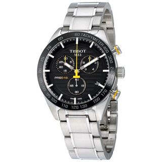 Tissot Men's T1004171105100 'PRS 516' Chronograph Stainless Steel Watch