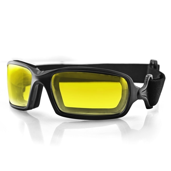 Bobster Fuel Biker Yellow Anti-fog Photochromic Lens Goggles