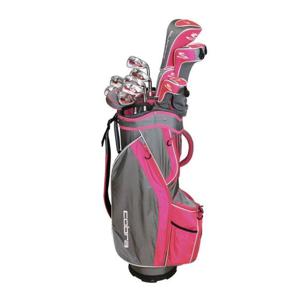 Cobra Women's Ladies Flex 8-piece Right-hand Complete Golfing Set
