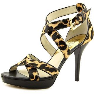 Michael Michael Kors Women's Evie Platform Hair Calf Dress Shoes