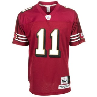 Alex Smith Jersey #11 NFL San Francisco 49ers Mitchell & Ness in Red