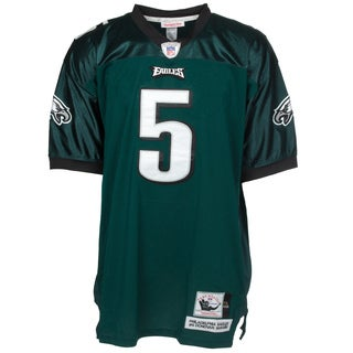 Donovan McNabb Jersey #5 NFL Philadelphia Eagles Mitchell & Ness in Green