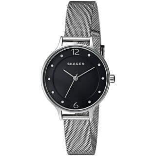 Skagen Women's SKW2473 'Anita' Crystal Stainless Steel Watch https://ak1.ostkcdn.com/images/products/12708904/P19490242.jpg?impolicy=medium