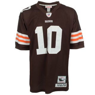 Brady Quinn Jersey #10 NFL Cleveland Browns Mitchell & Ness in Brown