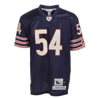 Brian Urlacher Jersey #54 NFL Chicago Bears Mitchell & Ness in Navy