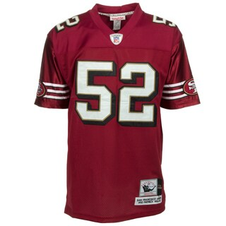 Patrick Wills Jersey #52 NFL San Francisco 49ers Mitchell & Ness in Red