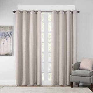 Madison Park Cassie Textural Jacquard Window Curtain Panel|https://ak1.ostkcdn.com/images/products/12709646/P19490931.jpg?impolicy=medium