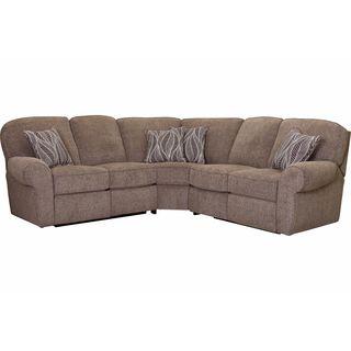 Lane Furniture Griffin Tan Fabric Wedge Sofa