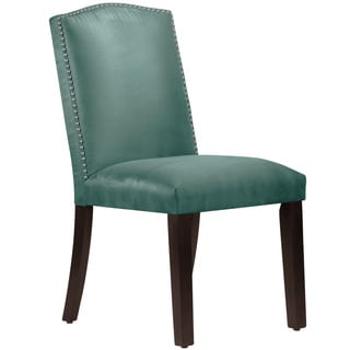 Skyline Furniture Premier Tidepool Nail Button Arched Dining Chair