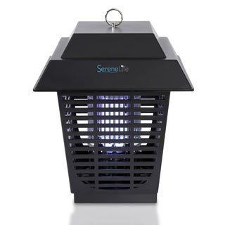 Pyle Black Waterproof Chemical-free Plug-in Bug Zapper