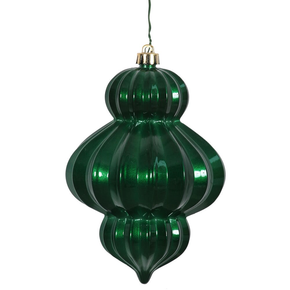 Vickerman Emerald (Green) Plastic 6-inch Candy Lantern Or...