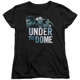 Under The Dome/Character Art Short Sleeve Women's Tee in Black