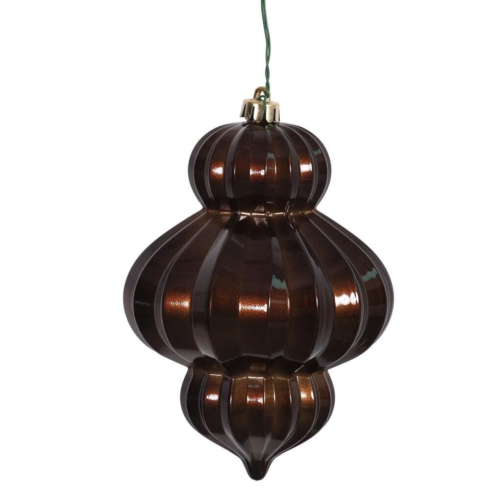Vickerman Chocolate (Brown) Candy Plastic 6-inch Lantern ...