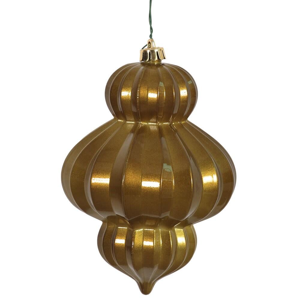 Vickerman Olive (Green) Plastic 6-inch Candy Lantern Orna...