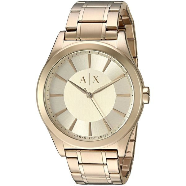 dab68714 Armani Exchange Men's AX2321 'Smart' Gold-Tone Stainless Steel Watch