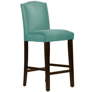 Skyline Furniture Premier Tidepool Nail Button Arched Bar Stool
