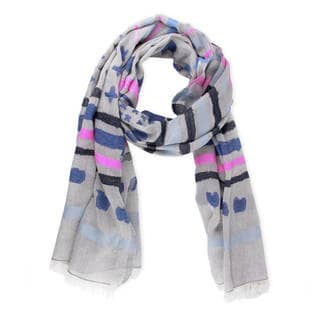 Saachi Women's Cotton-Blend Woven Scarf (India)