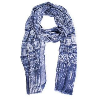 Saachi Oversized Geometric Modal Scarf (China)