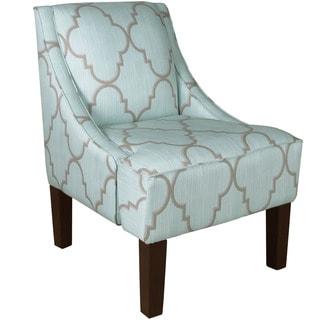 Skyline Furniture Skyline Spring Breeze Mineral Swoop Arm Chair