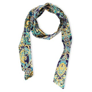 Saachi Skinny Medallion Scarf (China)