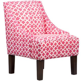 Skyline Furniture Skyline Trevi Mulberry Swoop Arm Chair
