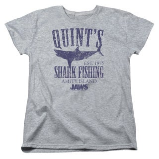 Jaws/Quints Short Sleeve Women's Tee in Heather
