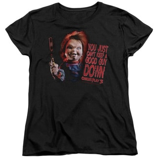 Childs Play 3/Good Guy Short Sleeve Women's Tee in Black