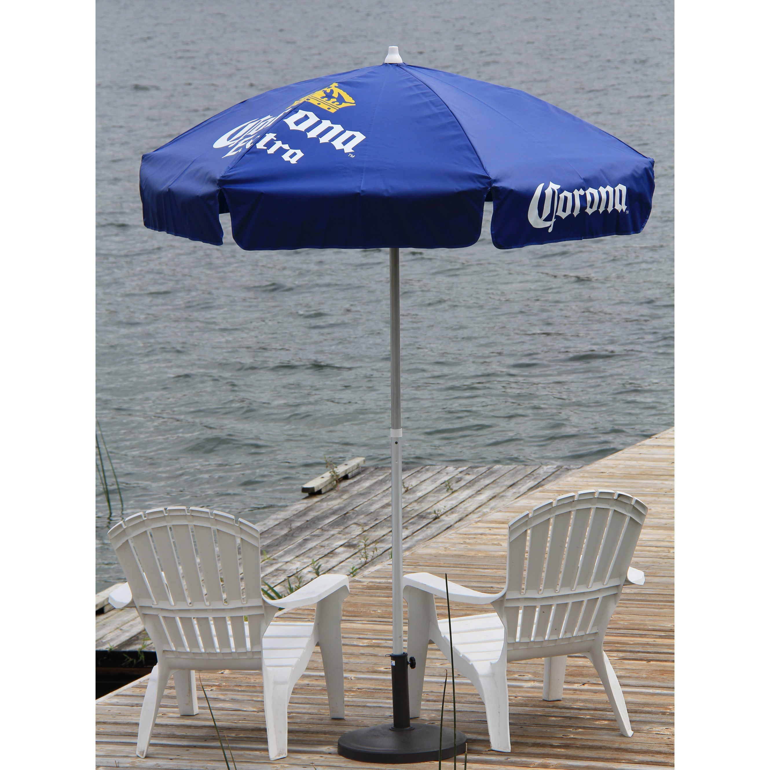 Vinyl 6 Foot Patio Umbrella