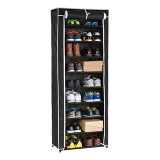 Wee's Beyond 9-tier Shoe Closet with Roll-up Door