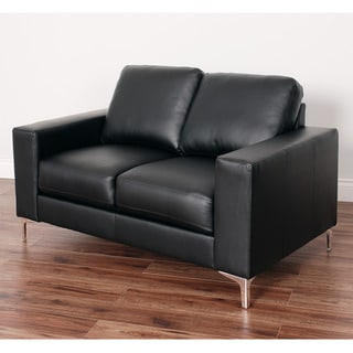 CorLiving Cory Contemporary Bonded Leather Loveseat