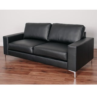 CorLiving Cory Contemporary Bonded Leather Sofa