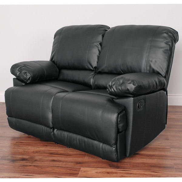 Cor Living Lea Bonded Leather Reclining Loveseat by Cor Living