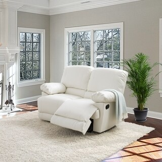 CorLiving Lea Bonded Leather Reclining Loveseat (4 options available)