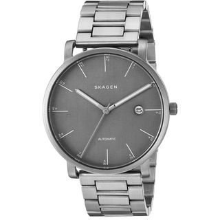 Skagen Men's SKW6303 'Hagen' Automatic Grey Titanium Watch