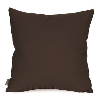 Seascape Chocolate 20-inch x 20-inch Pillow