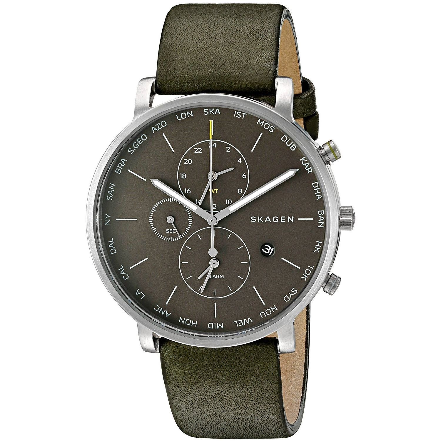 Skagen Men's SKW6298 'Hagen World Time and Alarm' Chronog...