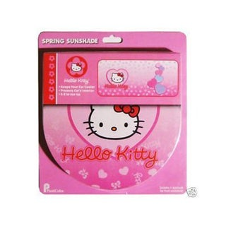 Hello Kitty Sanrio Pink Foldout Vehicle Sunshade