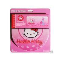 Hello Kitty Sanrio Pink Foldout Vehicle Sunshade