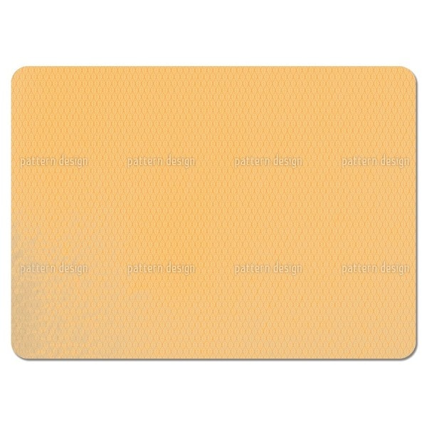 Checkered Sun Leaves Placemats (Set of 4)