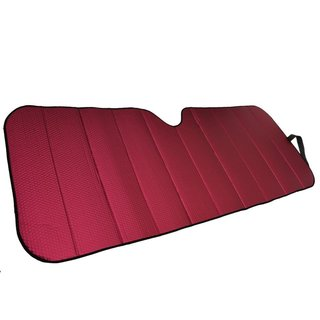 Motor Trend Red 66 x 27 Front Windshield Sunshade