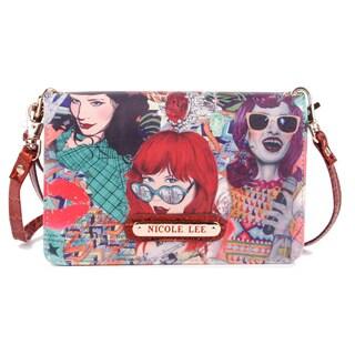 Nicole Lee Shelby Punky Print Mini Crossbody Handbag